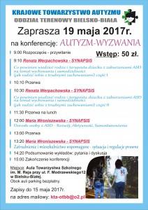 konferencja autyzm wyzwania synapsis
